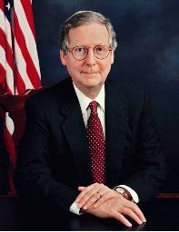 KY U.S. Senator Mitch McConnell (R)