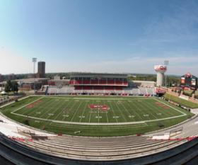 LT Smith Stadium is hosting the 2013 Kentucky high school football finals.