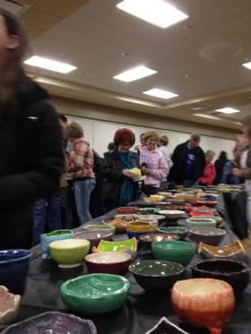 Empty Bowls Fundraiser Event 2012