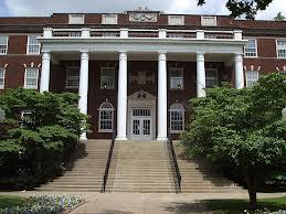 "Wells Hall is the home of Murray State's ""Office of the President"""