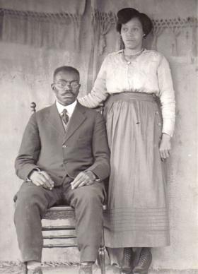 East St. Louisans from the early 1900s, found in the basement old home of a neighborhood photographer.