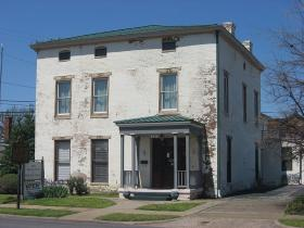 Lloyd Tilghman House Museum, 631 Kentucky Avenue in Paducah, Built in 1852.