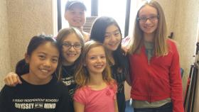 Odyssey of the Mind Team at WKMS