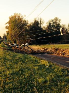 Storm Damage near Union City