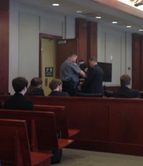 Scott Eaton was taken into custody immediately after his sentencing.