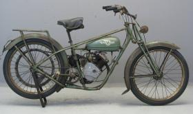 Antique Whizzer Motorbike