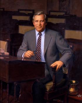 Portrait of Senator Howard Baker