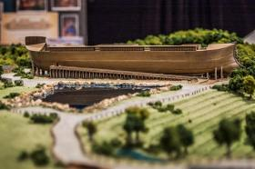 Model of Ark Encounter