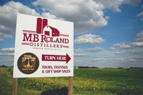 The M.B. Roland Distillery operates in Pembroke, Ky.