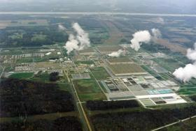 The Paducah Gaseous Diffusion Plant site.