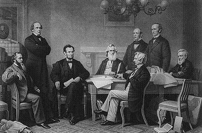 Signing the Emancipation Proclamation