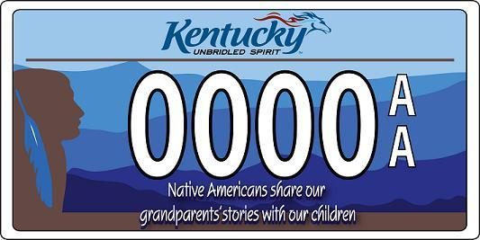 Kentucky must receive 900 requests for this special-design plate before February 27, 2009 for production of to proceed. For information on how to order, visit www.heritage.ky.gov.