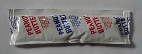 Recalled Peanut Butter Packet