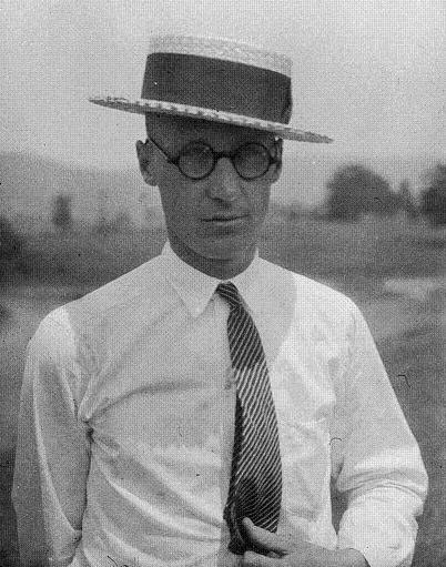John T. Scopes during the Scopes Trial, 1925