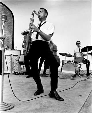 Boots at Centennial Park, Nashville, 1964.
