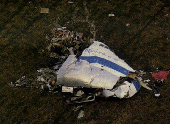 Pan Am flight 103 crash site