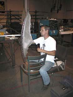 "Kentucky sculptor Tony Higdon designing ""Nexus,\"" located in Frankfort"
