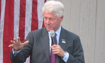Bill Clinton in Murray, Kentucky, 2008.