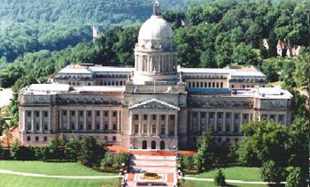 Kentucky State Capitol in Frankfort.