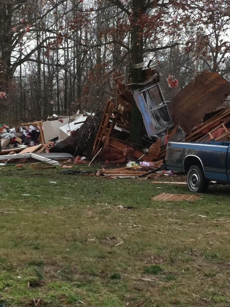 Storm Damage in Ballard County