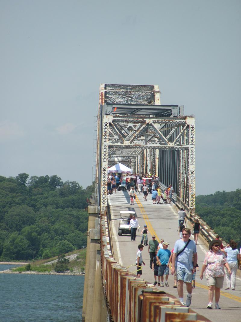 Eggners Ferry Bridge Re-Opens 5-25-12