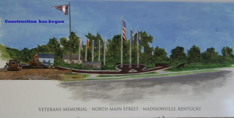 Veterans Memorial, Madisonville