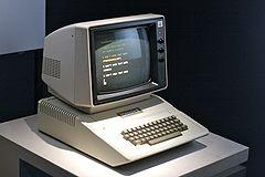 Behold, the Apple ][
