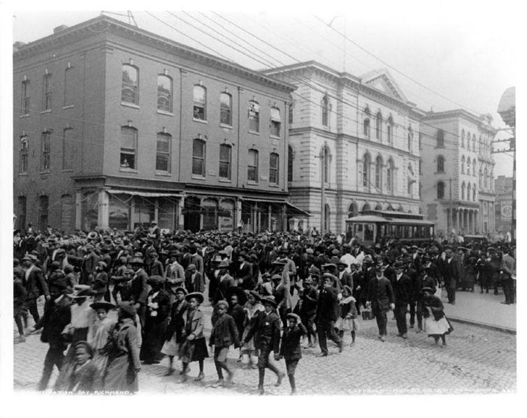 Emancipation Day celebration in Richmond, VA, 1905