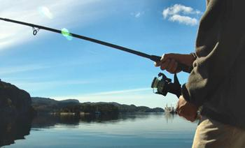 Fishing at Lake Barkley