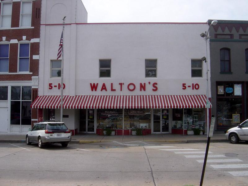 Sam Walton's original Five and Dime