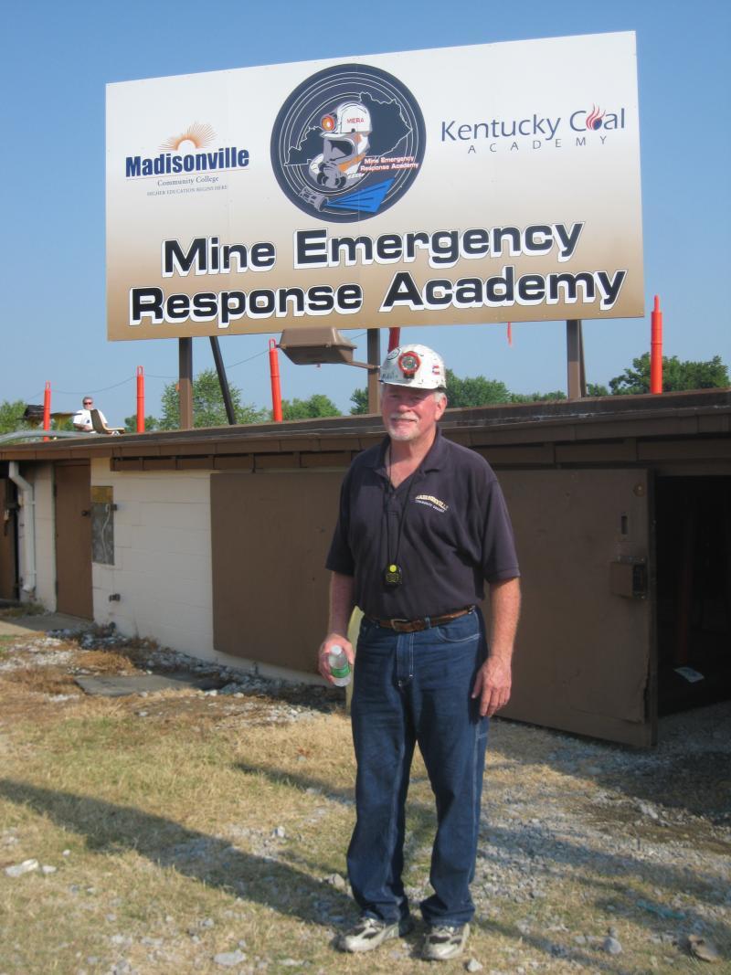 Rick Caskey, Chief Judge, Fire Brigade Instruction, Kentucky Coal Academy