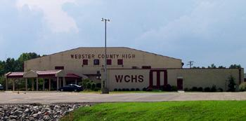The new junior high will sit next to the current Webster County High School.