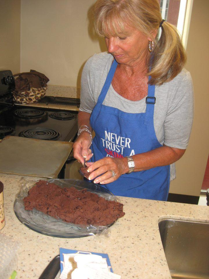 Barbara Cox's neighbor convinced her to enter her Double Chocolate Dream Cookies and they earned 2nd Place!