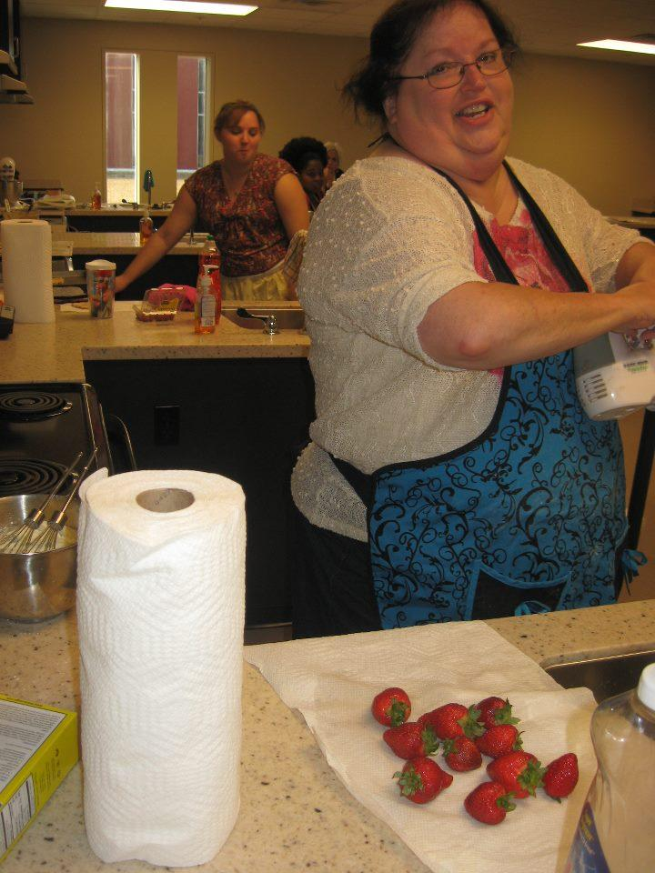 Pat Carrico of Paducah, baker of 1st Place French Cream Cookies