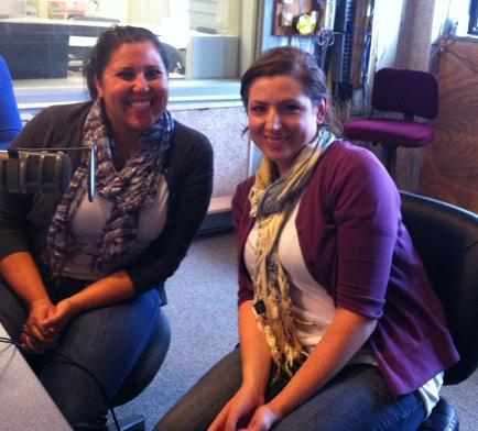 Melissa Wortman, left, and Virginia Siegel