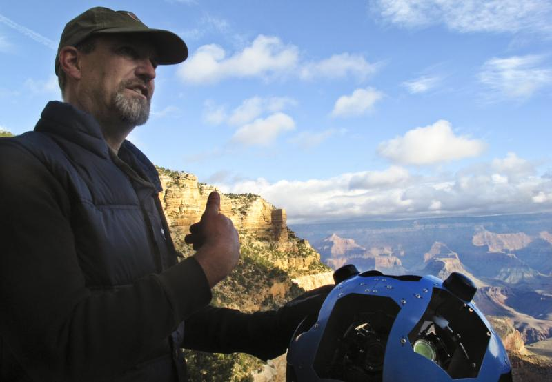 Steve Silverman helped Google build its new Trekker.