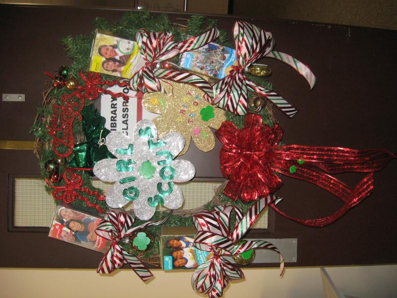 Merry Christmas from Girl Scout Troup 92, Murray