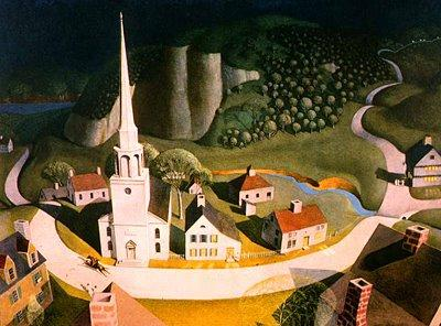 """The Midnight Ride of Paul Revere,"" Grant Wood"