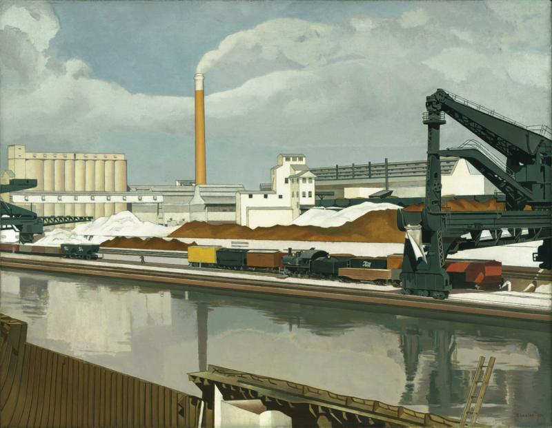 """""""American Landscape, 1930,"""" Charles Sheeler"""