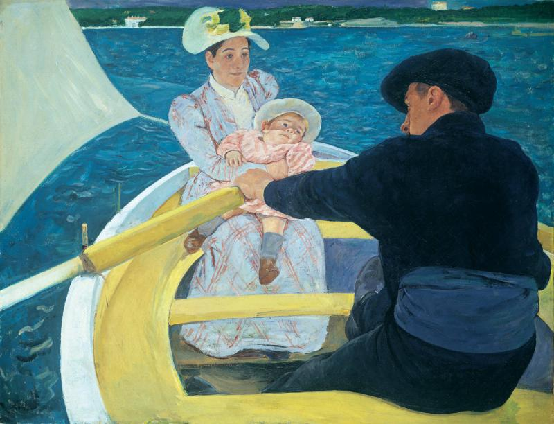 """The Boating Party,"" Mary Cassatt"