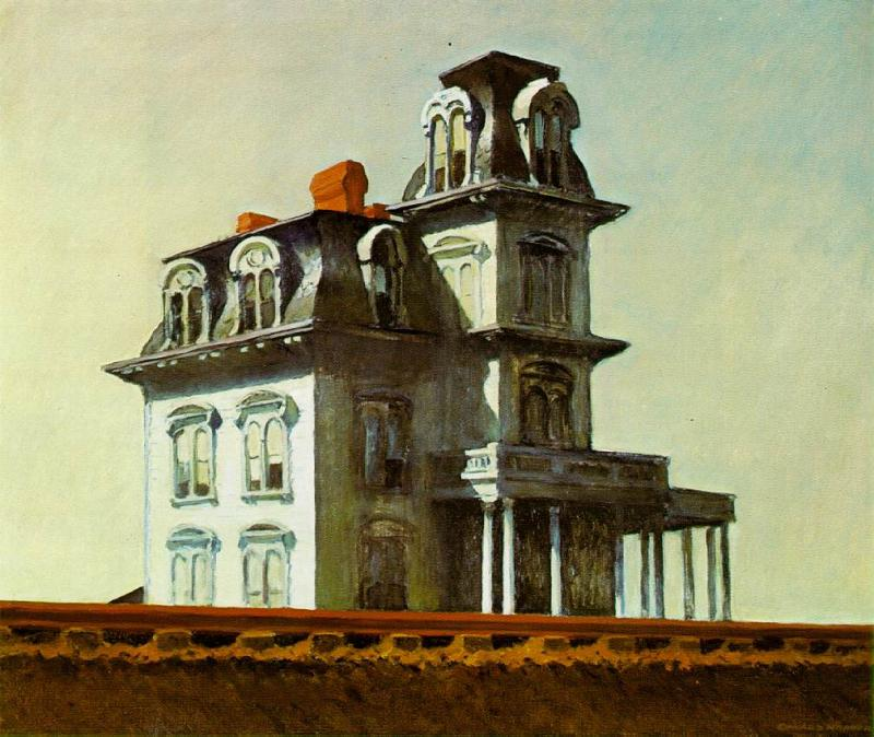 """House by the Railroad,"" Edward Hopper"