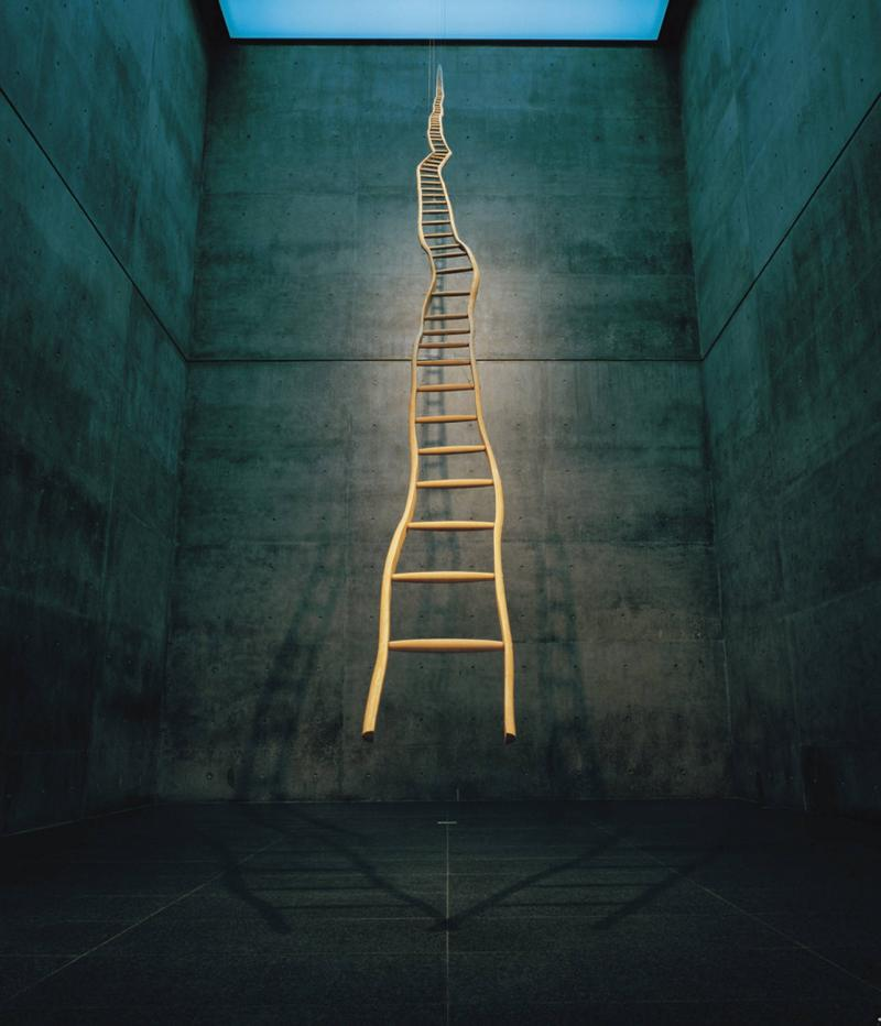 """Ladder for Booker T. Washington,"" Martin Puryear"