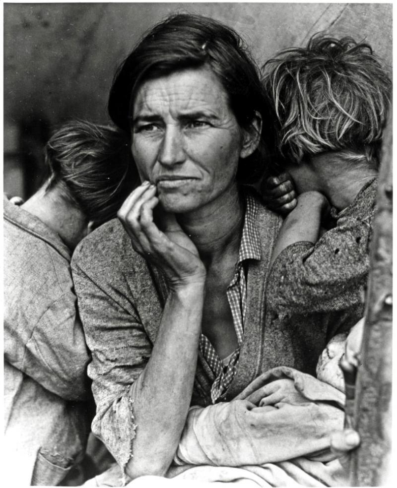 """Migrant Mother,"" Dorothea Lange"