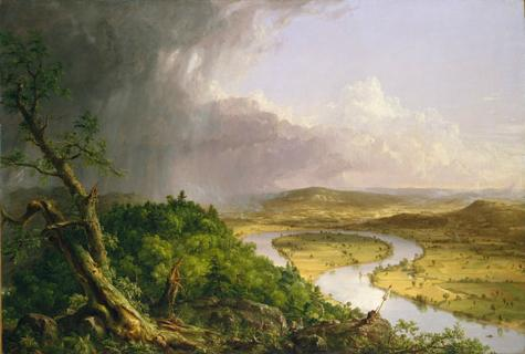 The Oxbow, by Thomas Cole