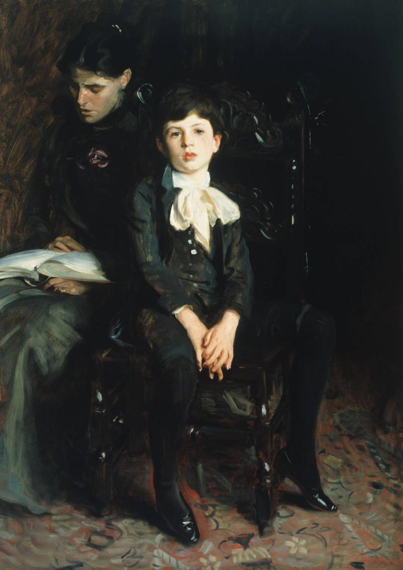 """Portrait of a Boy,"" John Singer Sargent"