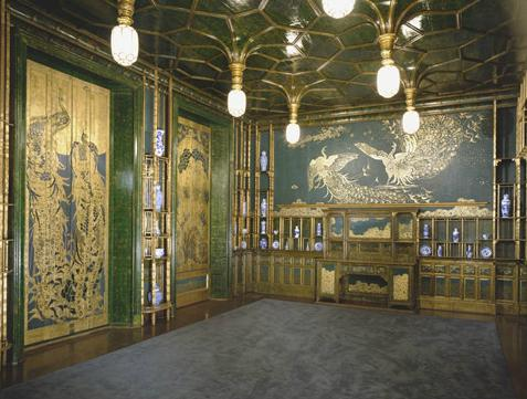The Peacock Room: Harmony in Blue and Gold, James McNeill Whistler
