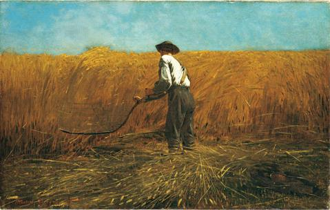 """The Veteran in a New Field,"" Winslow Homer"