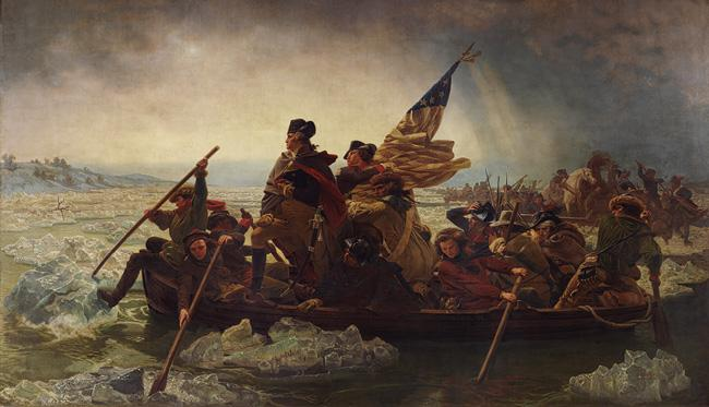 """Washington Crossing the Delaware,"" Emanuel Leutze"