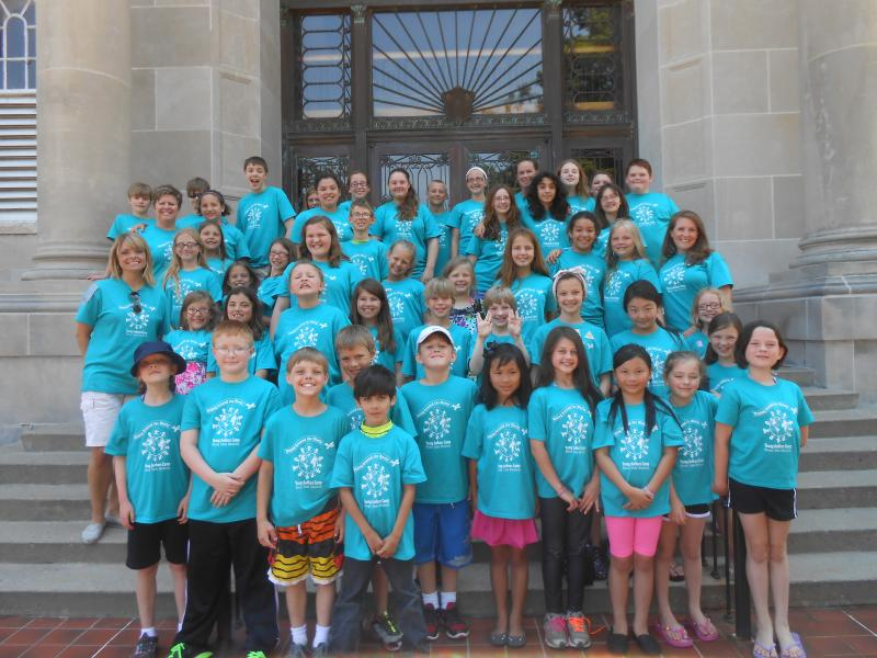 Young Authors Camp 2013 Group Photo