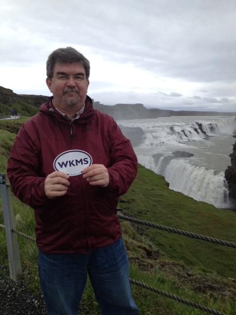 WKMS Sounds Good at Gullfoss in Iceland! Photo submitted by Rick Nance